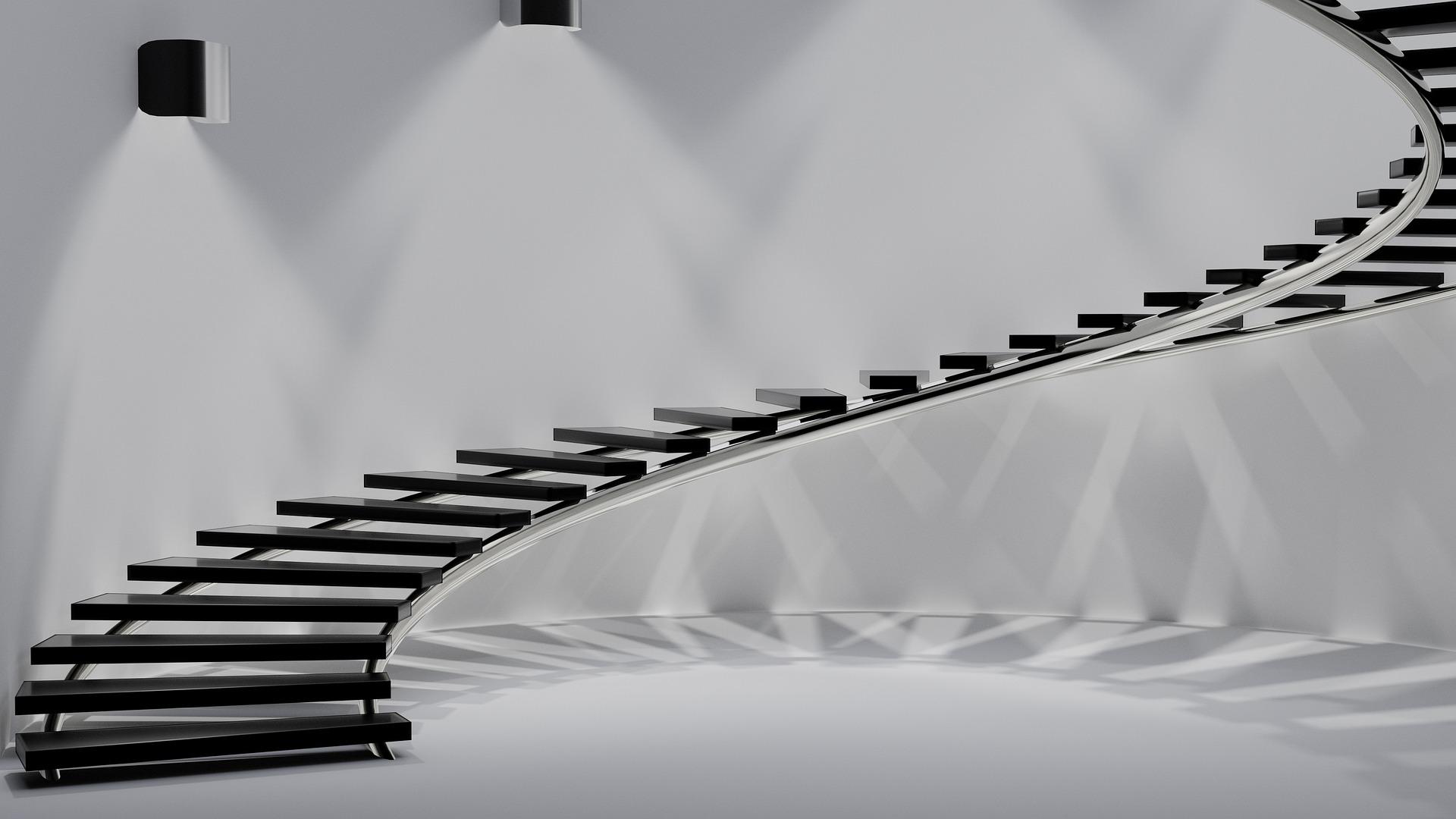 Designer Treppe